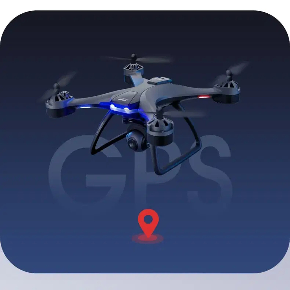 F5 4K RC Quadcopter Drone - Black Fixed Height Version