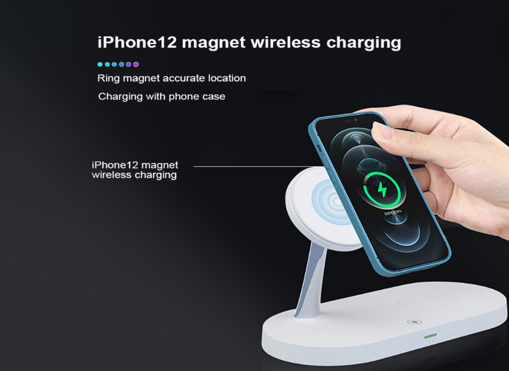 5-in-1 Wireless Charger - Black