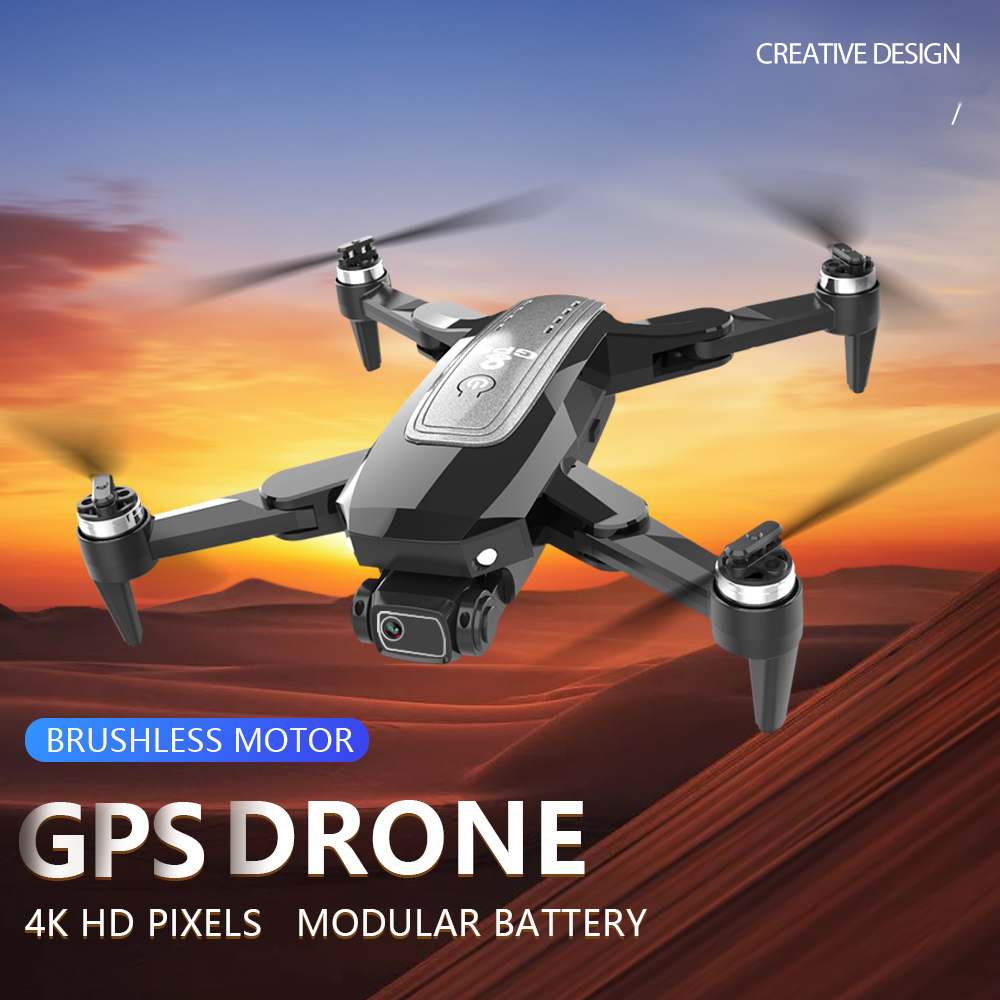 M818 GPS Brushless Motor RC Quadcopter Drone - Red