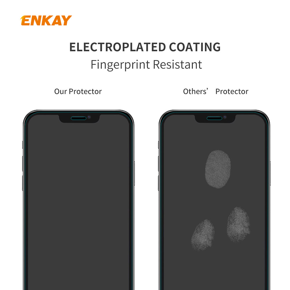 ENKAY Hat-Prince Screen Protector for iPhone 12/12 Pro 6.1 inch 5PCS - Transparent