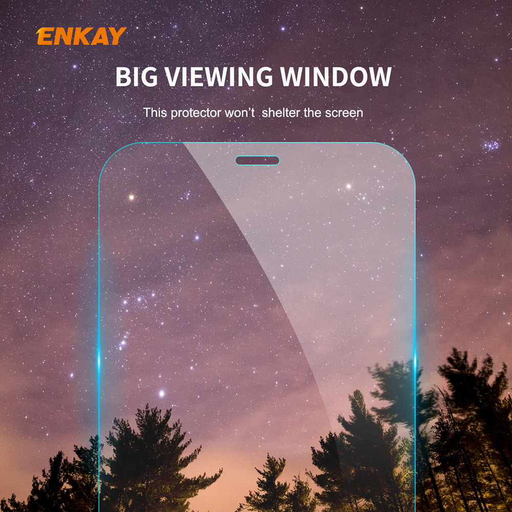 ENKAY Hat-Prince Screen Protector for iPhone 12/12 Pro 6.1 inch - Transparent