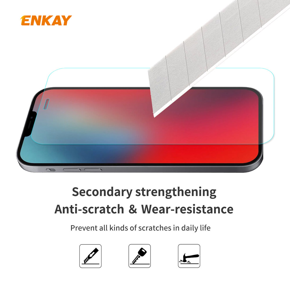 ENKAY Hat-Prince Screen Protector for iPhone 12 Pro Max 6.7 inch - Transparent