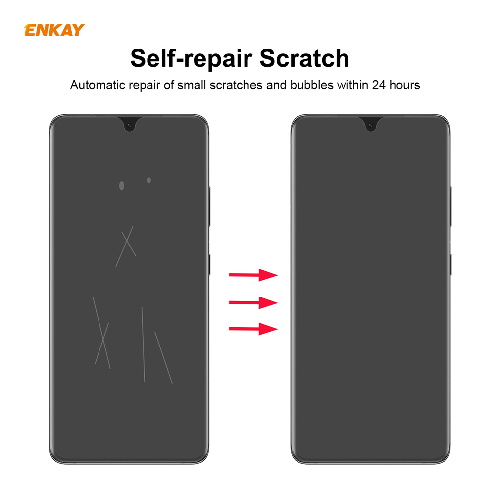 ENKAY Hat-Prince Screen Protector for Samsung Galaxy S21 Ultra 10PCS - Transparent