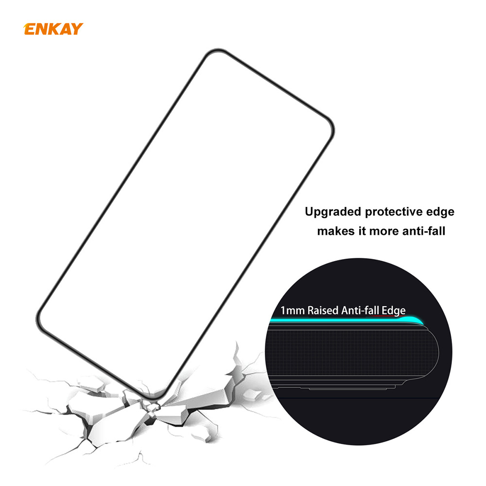 ENKAY Hat-Prince Screen Protector for Samsung Galaxy A52 4G / 5G - Black