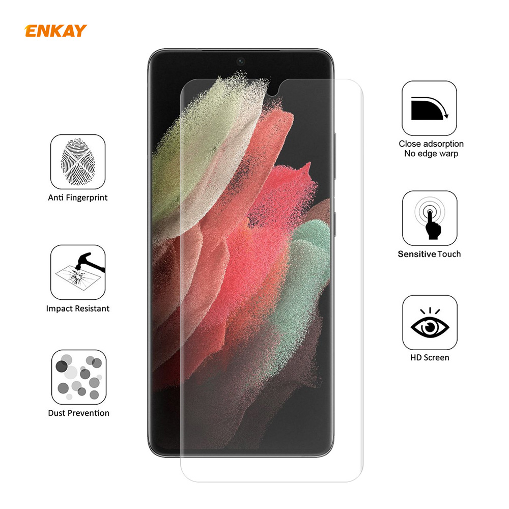 ENKAY Hat-Prince Screen Protector for Samsung Galaxy S21 Ultra 5PCS - Transparent