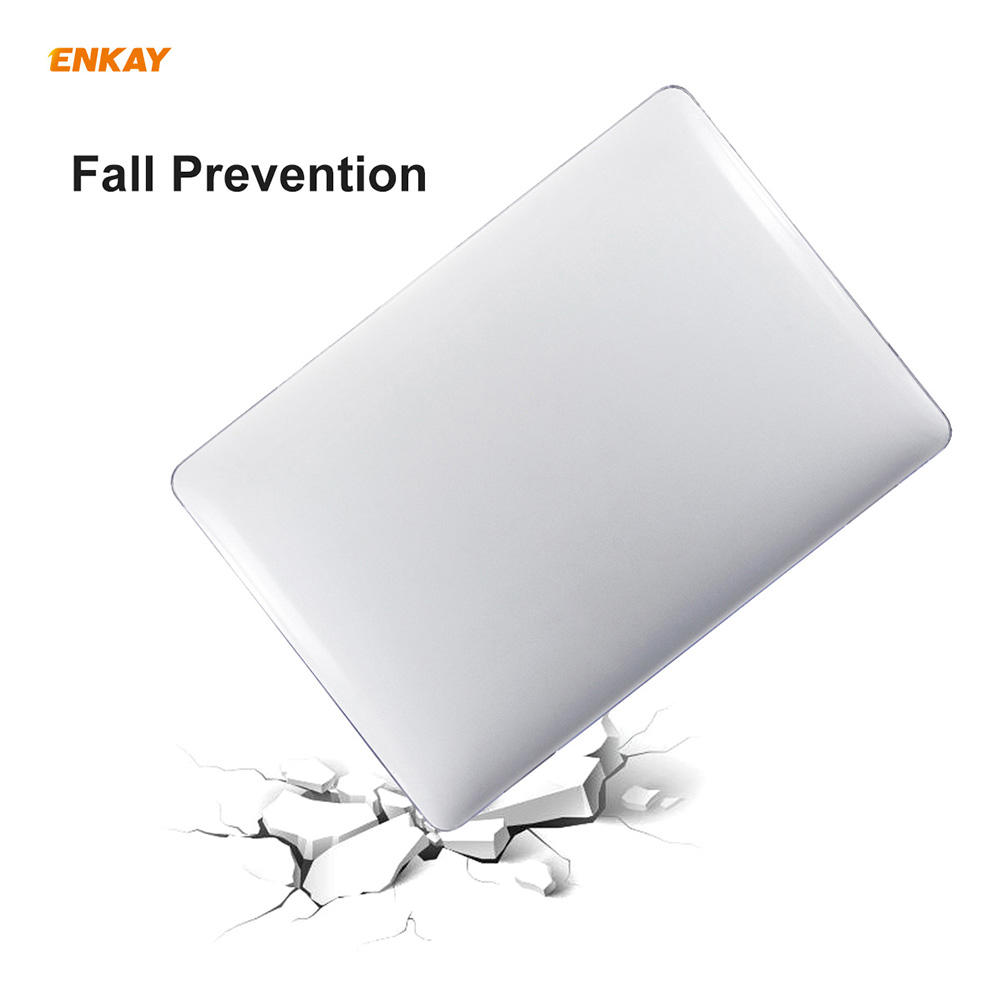 ENKAY Hat-Prince 3-in-1 Laptop Protective Case for MacBook Air 13.3 inch 2020 A2179/A2337 US Version - Black