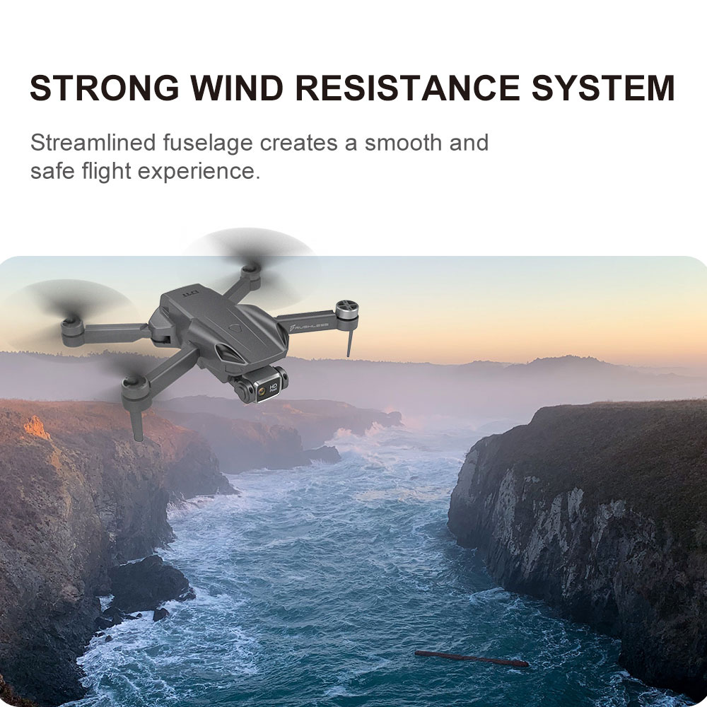 H9MAX RC Drone Quadcopter Aircraft Toy - Black