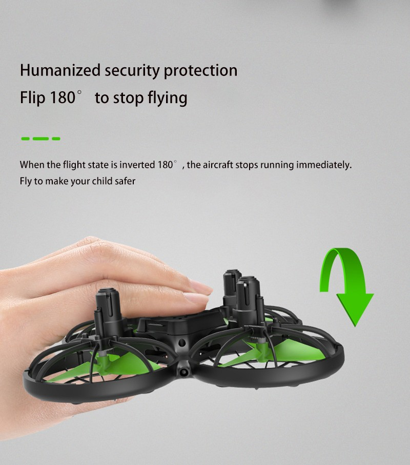 X26 Drone Infrared Avoidance Remote Control Aircraft Drone Four Axis Aircraft - Multi-A