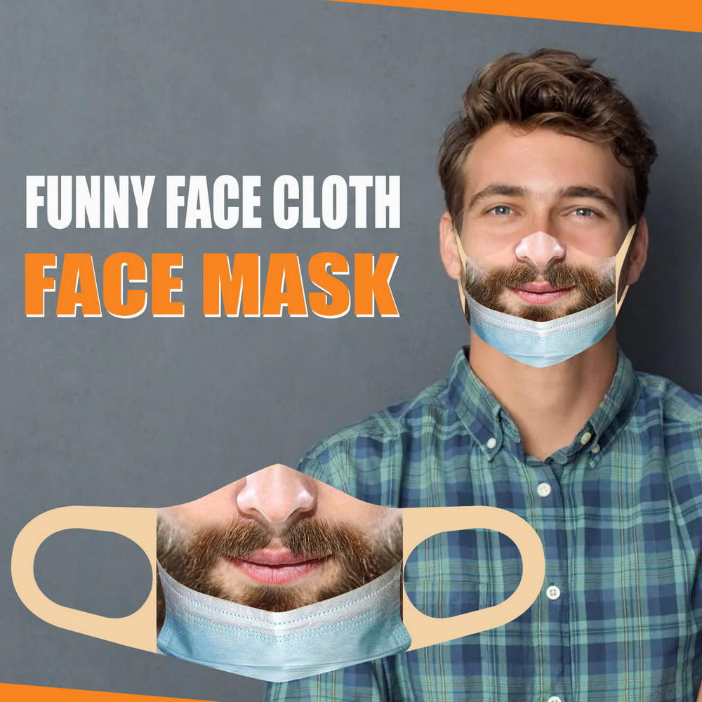 Personalized Face Expression Funny Mask - Multi-C
