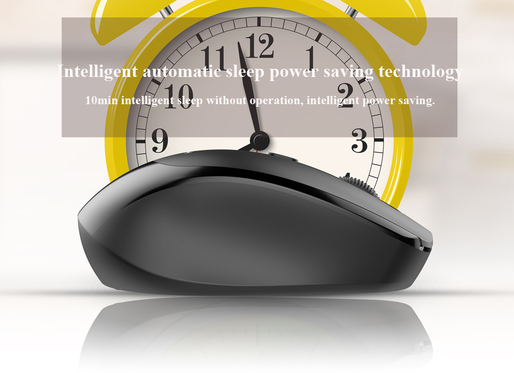 V3 Competing Emperor Keyboard And Mouse Set Wireless 2.4G For Home Office Use Ultra-Thin - Black