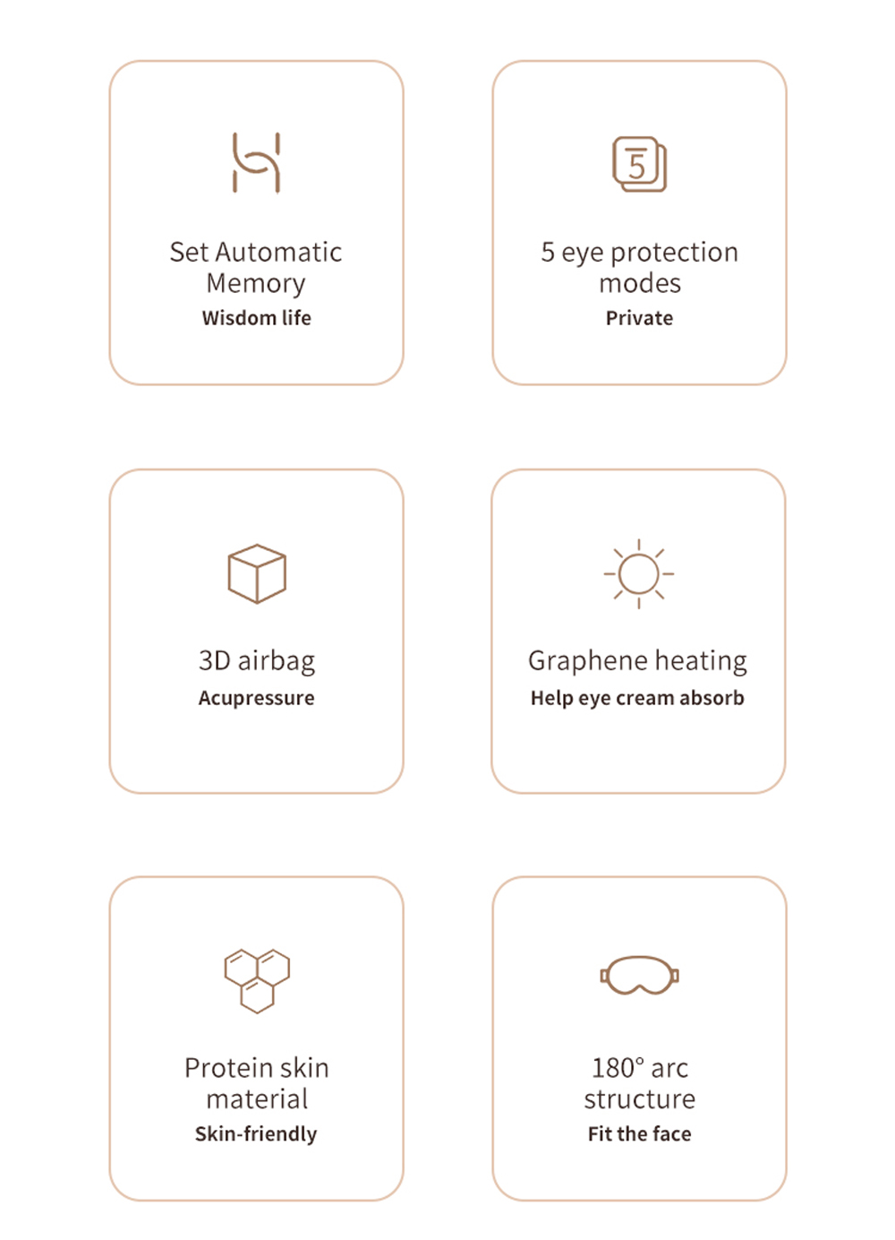 HUAWEI A3 Foldable Wireless Eye Massager with 8 Airbags 5 Modes Surround Stereo Sound Sleeping Headphone Eye Care Hot Compress Glasses Works with HUAWEI HiLink - Blue Gray