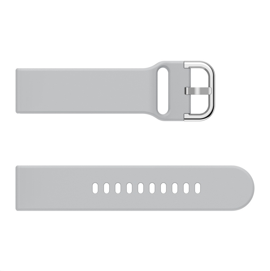 TAMISTER 20mm Watch Strap Monochrome Models Vitality for Haylou LS02 - Greenish Blue