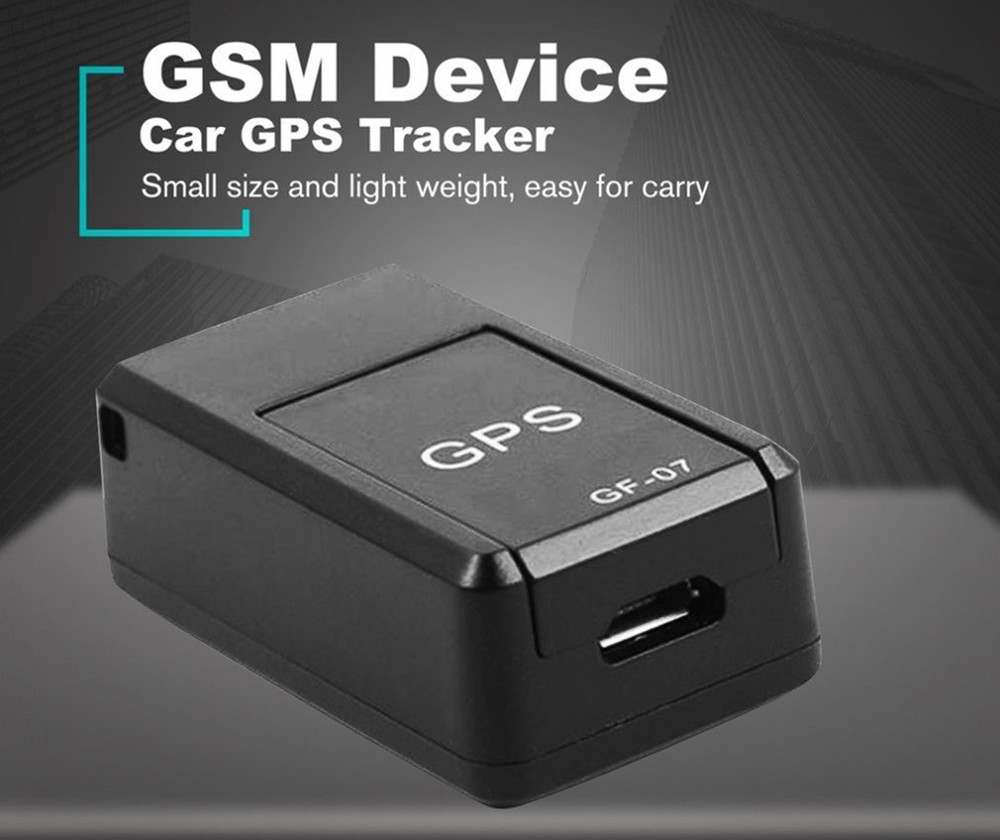 GF07 Adsorption Car Anti-theft Free Installation Tracker Elderly and Children Anti-lost GPS Strong Magnetic Locator - Black