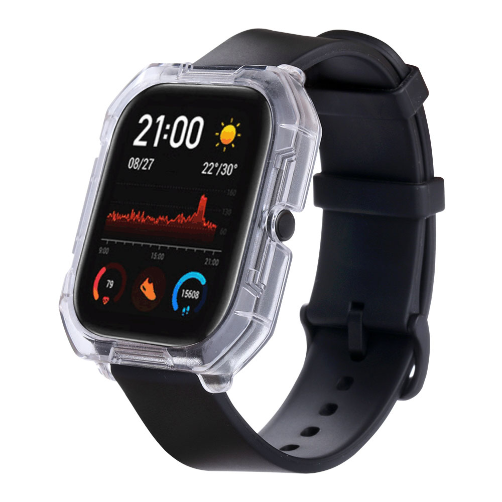 TAMISTER Discovery Edition Vacuum Plating PC Watch Case for Amazfit GTS - Silver