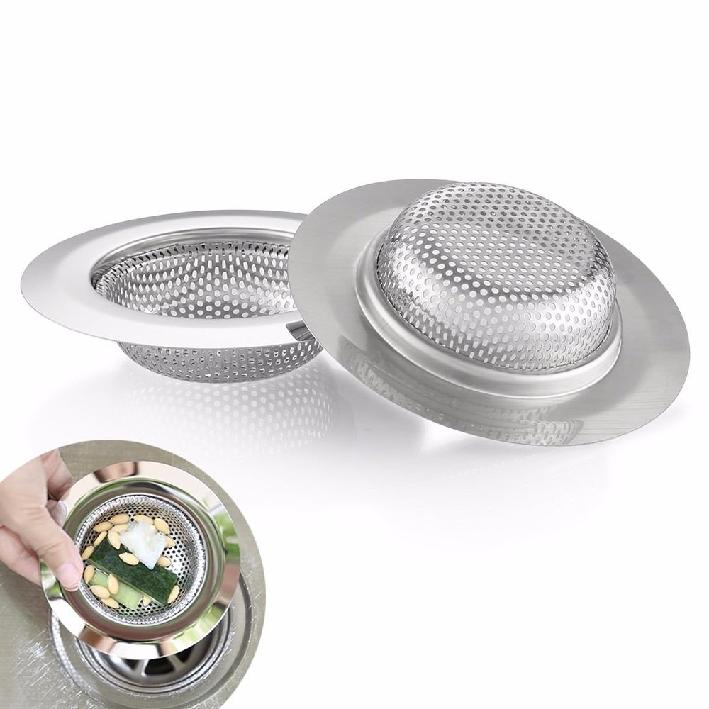 COZZINE Stainless Steel Sink Filter- Silver