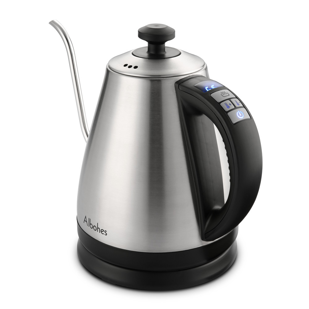 ALBOHES Electric Gooseneck Kettle