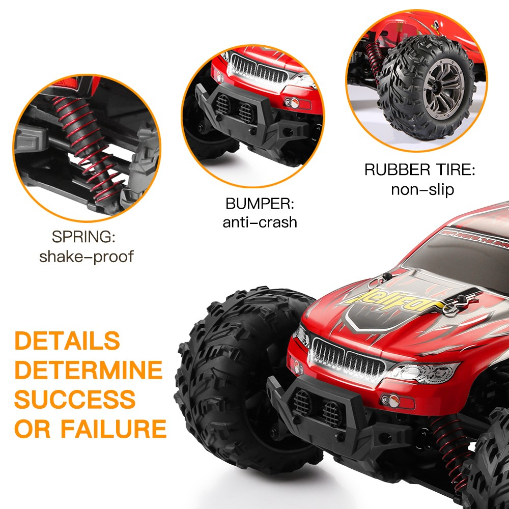 helifar 9130 4WD RC Car with Two Batteries
