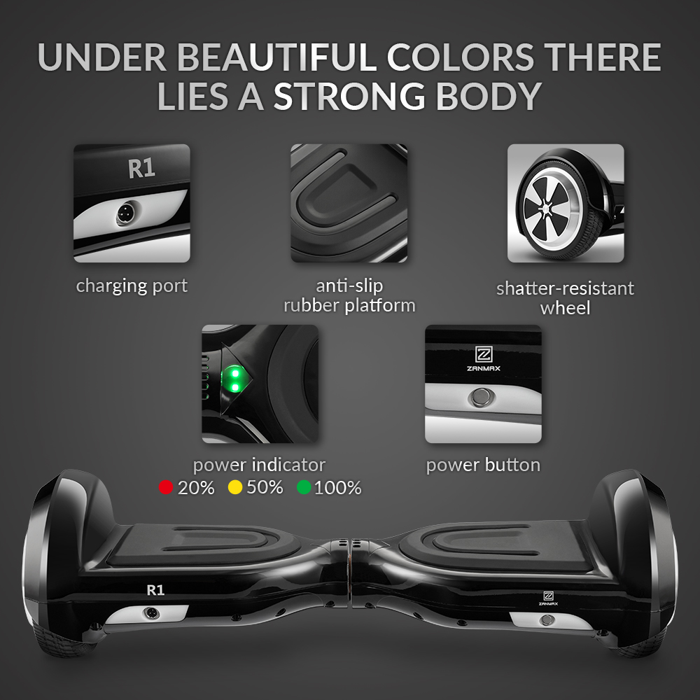 Eur Package Content Selfbalancing Twowheeled Smart Electric Board