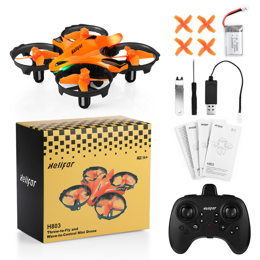 helifar H803 Mini Drone With Infrared Collision Avoidance - $22.99