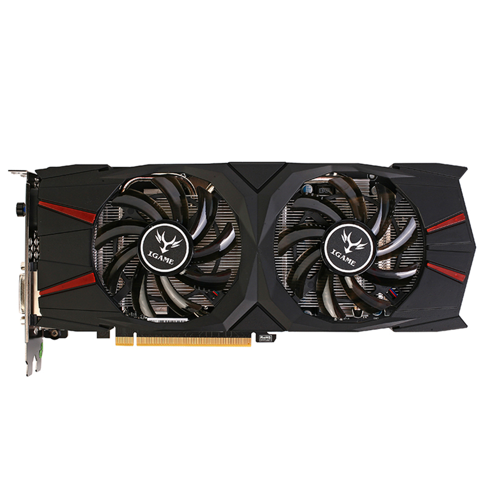 Colorful GeForce iGame GTX 1060 Vulcan U 6G Carte Graphique - Black