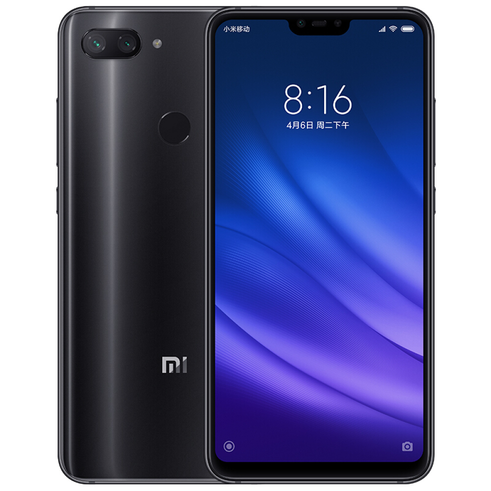 Xiaomi Mi 8 Lite Global 6GB di RAM 64GB di ROM - Nero