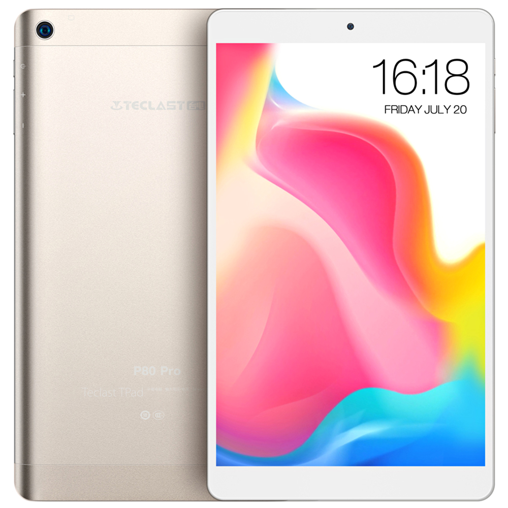 Teclast P80 Pro Tablet 3GB + 32GB - Champagne 1pc