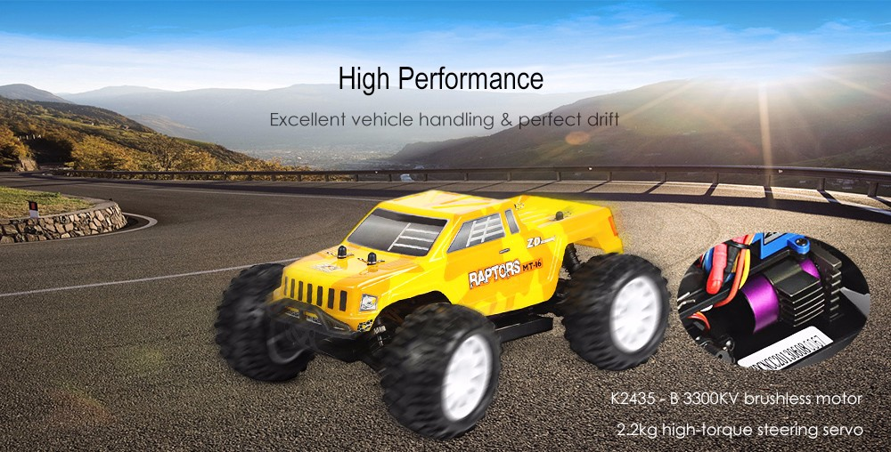 ZD Racing 9053 1:16 Brushless RC Monster Truck RTR 40km/h Maximum Speed