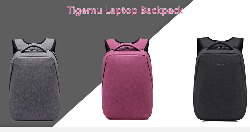 Tigernu T - B3164 21L Polyester Water-resistant Anti-theft Backpack for 17  inch 115d9ead0e7c5