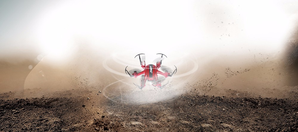 JJRC H20 Tiny 2.4G 6 Axis Gyro 4CH RC Hexacopter Headless Mode RTF- Red