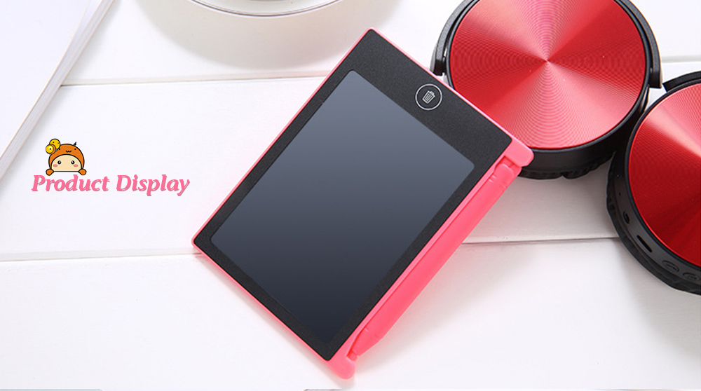 4.4 inch Digital LCD Writing Tablet High-definition Brushes Handwriting Board Portable No Radiation