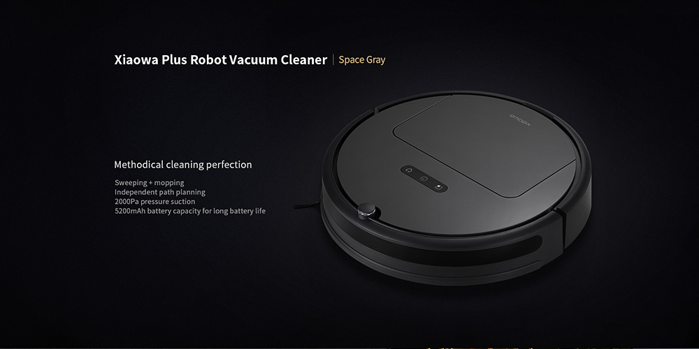 Roborock xiaowa E352 - 00 Smart Robotic Vacuum Cleaner Automatic Intelligent Cleaning Robot from Xiaomi- Gray