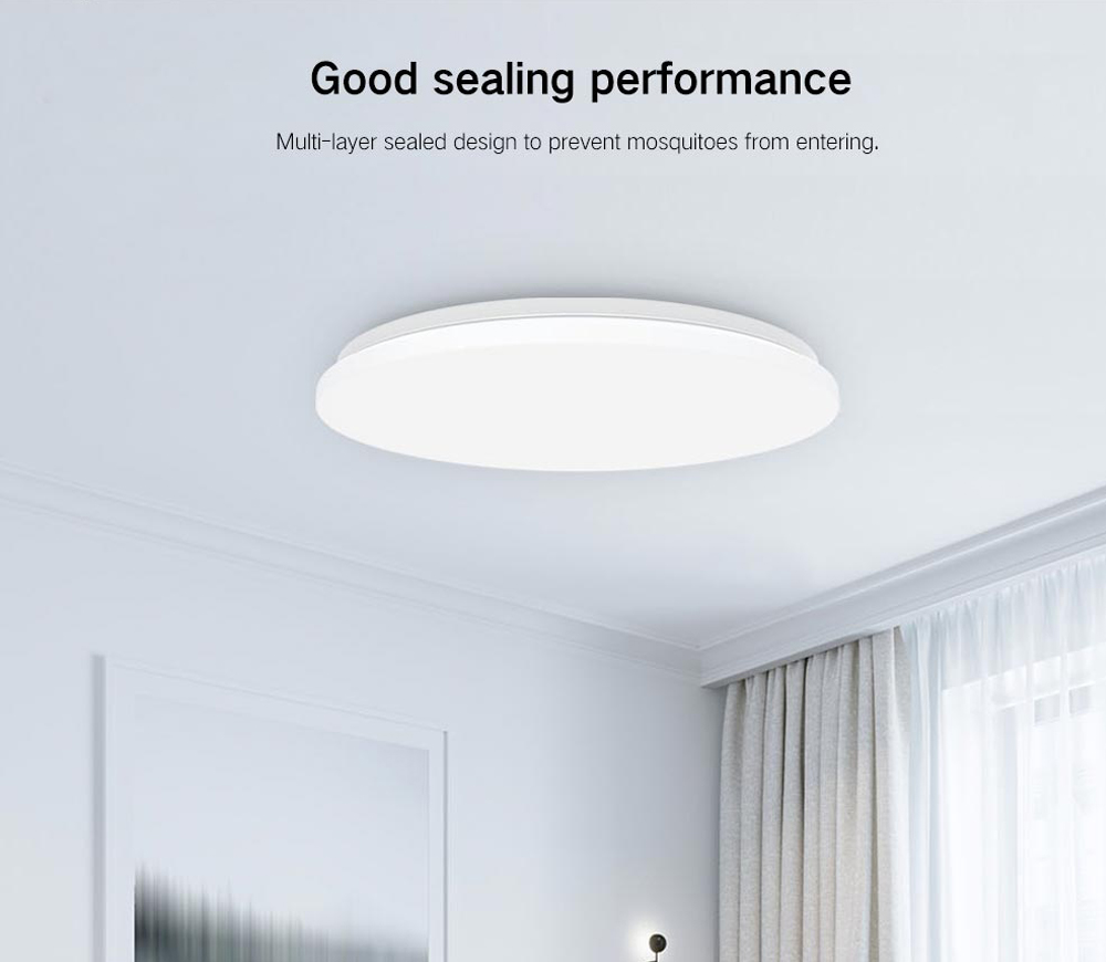 Yeelight YILAI YlXD05Yl 480 Simple Round LED Smart Ceiling Light for Home- White