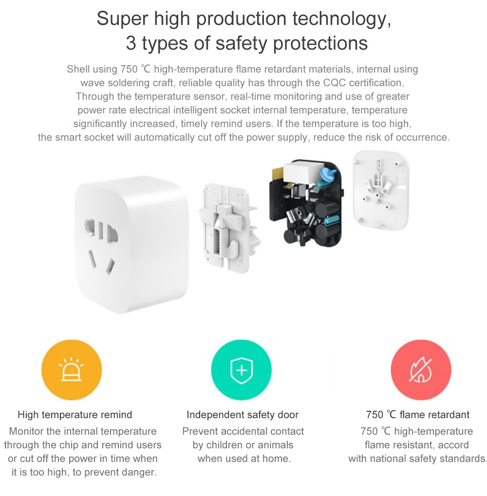 Original Xiaomi Mi Home Smart Wifi Socket 3099 Free Shipping Network Power Switch How To Protect Your Electrical Equipment With An App Remote Control Timer Plug For Appliance