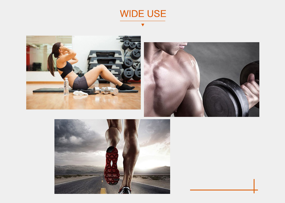 SHANDONG SD - 400 Muscle Training Gear Smart EMS Auto Body Sculpting Exercise Tool 6 Modes- Black and Orange US Plug