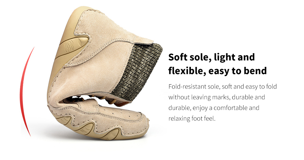 Fashion Trend Peas Shoes Soft sole, light and flexible, easy to bend
